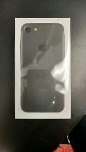 New iPhone 7 32gb matte black