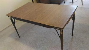 Portable dining table for sale, OBO $30 only!