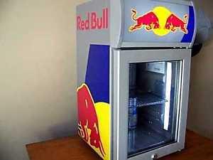 Red Bull commercial grade mini fridge