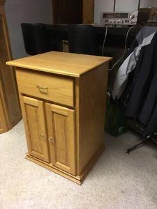 Solid Oak Cupboard unit