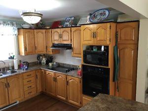 Solid Oak Kitchen Cupboard Doors