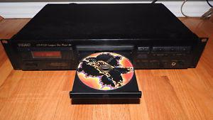 TEAC CD-P High end rack mount CD player no remote