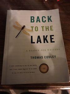 University textbook: Back to the lake