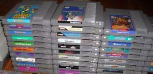 WANTED OLD Video Games Nintendo Sega Atari