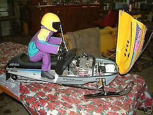 Wanted: 1/3 SCALE RADIO CONTROL GAS SNOWMOBILE