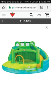 Wanted: LOOKING FOR LITTLE TIKES WET AND DRY BOUNCY CASTLE