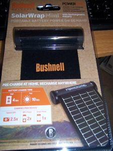 brand new Bushnell solarwrap mini with rechargeable battery