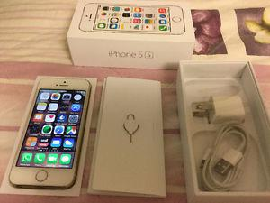 iPhone 5s Silver, Rogers $230 like brand new