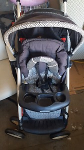 Baby items car seat, exosaucer, chair, gym, stroller, stand