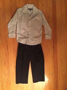 Boys size 5 dress pants and shirt