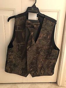Camouflage tie and vest (tuxedo)
