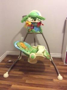 Fisher Price Rainforest infant swing