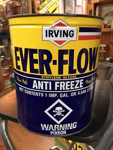 Irving Oil Ever-Flow Anti Freeze One Imperial Gallon Can