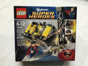 LOT OF 3 DC SUPER HERO LEGO SETS NEW AND SEALED