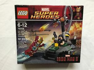 LOT OF 3 MARVEL SUPER HERO LEGO SETS NEW AND SEALED