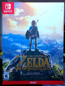 Legend of Zelda Breath of the Wild Special Edition | SEALED