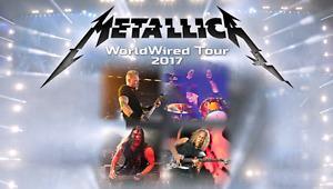 Metallica General Admission Hardcopy Floor Tickets For