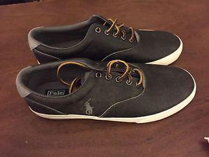 Polo men's leather shoe grey 11 NBW