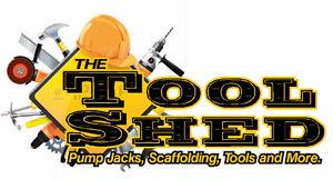 Pump Jacks, Scaffolding, ladders and more