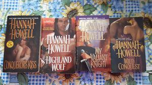 Romance and Paranormal romance novels