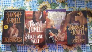 Romance and Paranormal romance novels