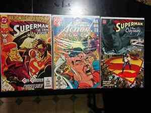 Superman / Superboy Comic Book Lot