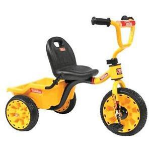 Tonka Trike with dumper in the back $