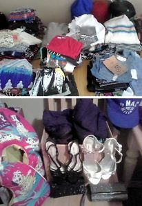 Tons of clothes for low low prices