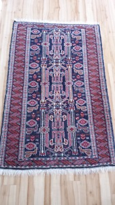 Tribal rug from Afghanistan