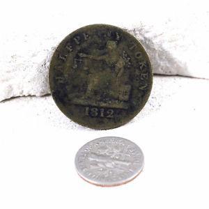 Vintage Copper Token -  Lower CANADA Imitation TiffIn
