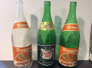Vintage Dominion and Canada Pop Bottles