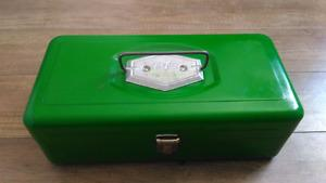 Vintage Metal Victor Tackle Box