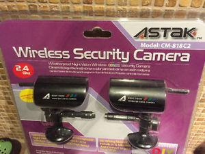Wireless security camera: 2.4 ghz