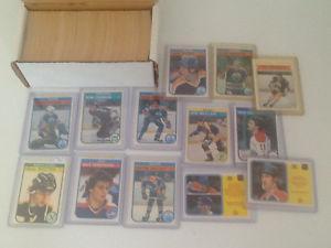 o pee chee hockey card complete set