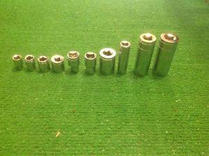 10 pc Socket set