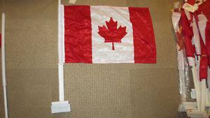 27 Canada Day Car Window Flags Canadian Flag