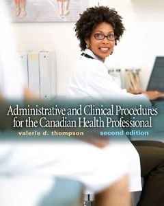 Admin. and Clinical Procedures for the Canadian Health