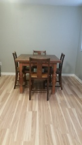 Antique table and chairs for sale