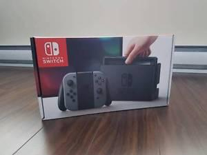BNIB Nintendo Switch Gray