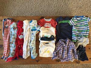 Baby Boy Clothing Lot - Size 6 Month