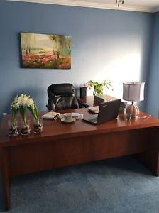 Beautiful L shape office desk