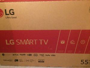 "Brand New 55"" LG flat screen Smart TV"