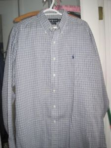 Brand New Ralph Lauren Blake Soft Cotton Casual Dress Shirt