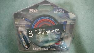 Car amp wiring kit