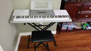 Casio WK-225 Keyboard Like New