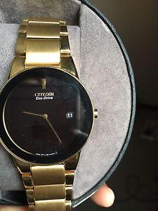 Citizen Eco drive watch, mint