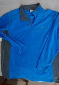 Columbia fleece pullover top New