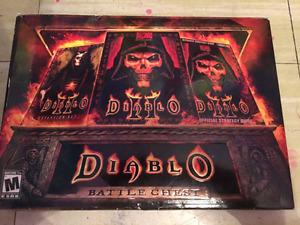 Diablo 2 pc with strategy guide and expansion