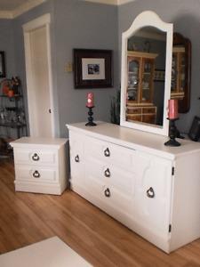 Dresser and Matching Nightstand