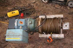 Electric Staionary Winch- Made in Norway